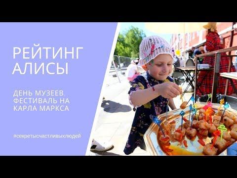 РЕЙТИНГ АЛИСЫ. День музеев на Карла Маркса
