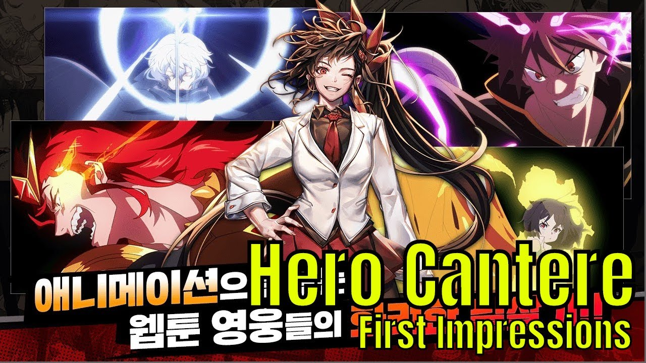 Hero Cantare: Naver Webtoons Hero Collector/First Impressions/Should You  Play It?