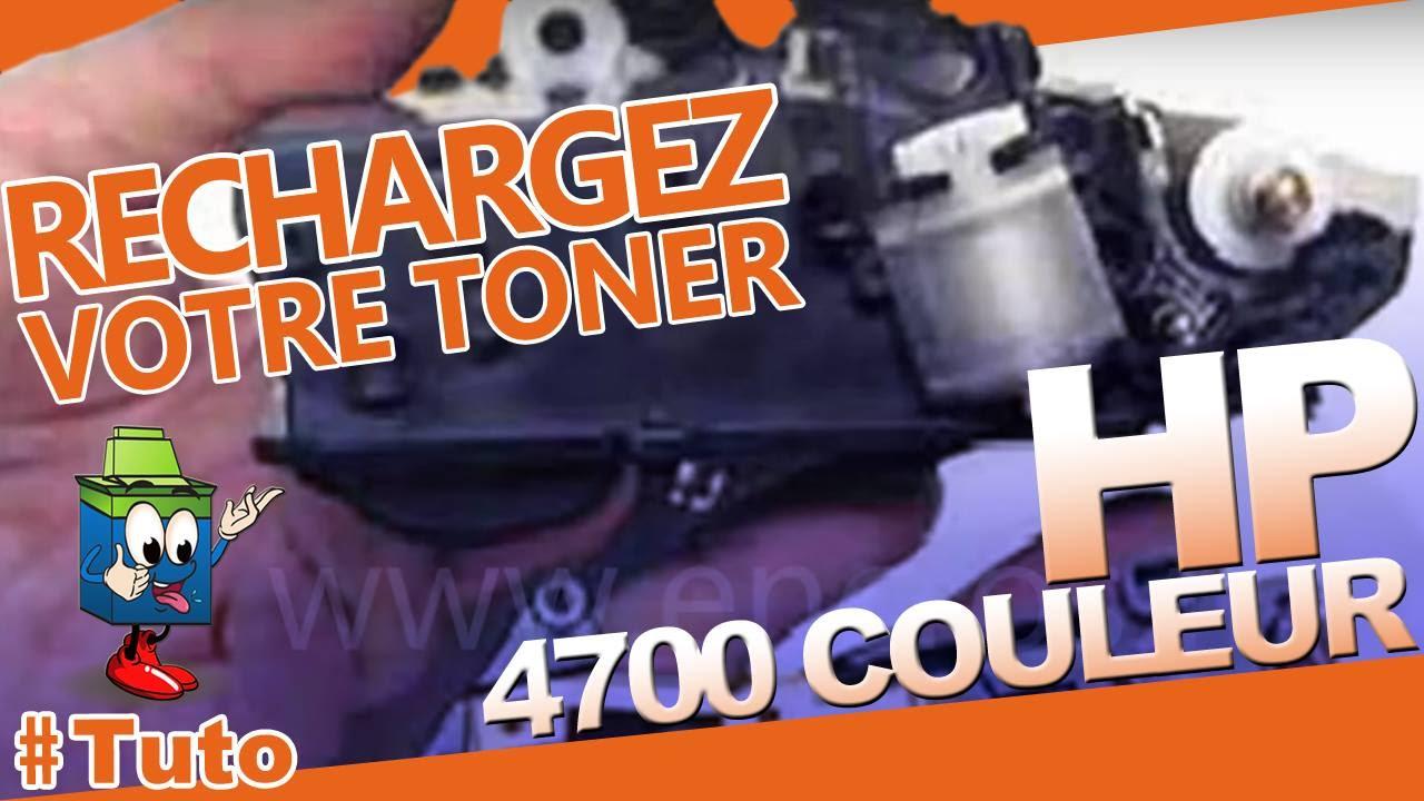 4700 Color Laserjet HP Toner : Bien Recharger Le Toner