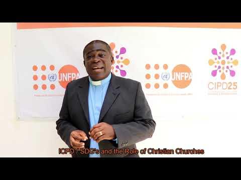 CIPD/ODS e o papel das Igrejas Cristãs