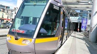 【ルアス】アイルランドの路面電車 〜 トラムに乗車 in ダブリン / Luas - Dublin Tram, Rail Transport for Ireland【海外生活10日目】