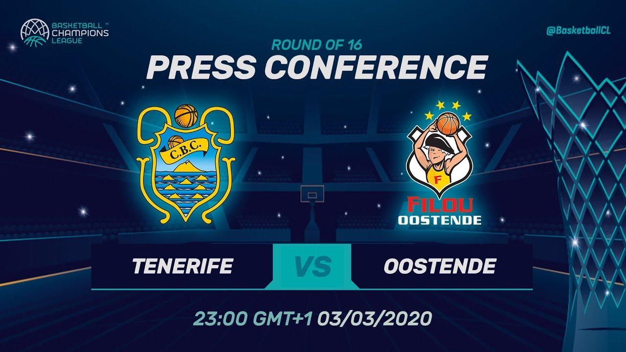 Iberostar Tenerife v Filou Oostende - Press Conference