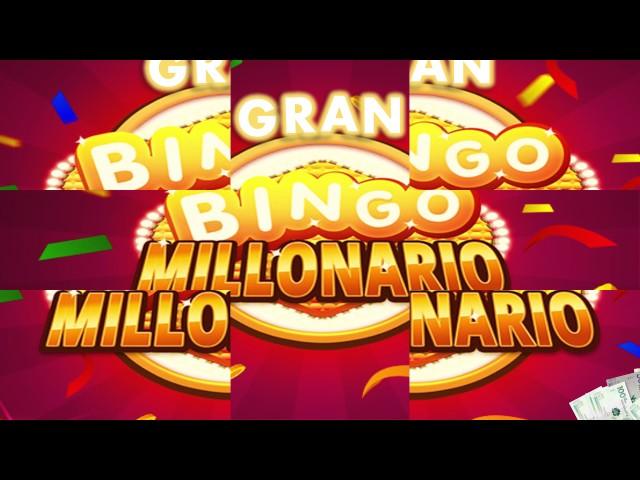 CUÑA   GRAN BINGO MILLONARIO