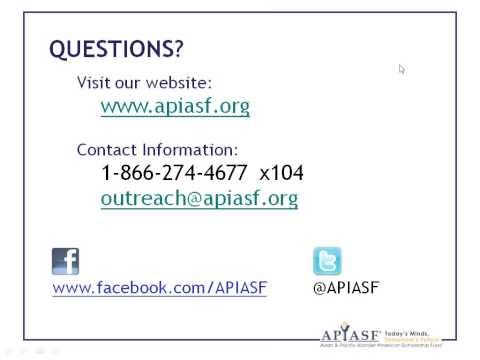 APIASF Scholarships and Gates Millennium Scholars for Native Hawaiian Students