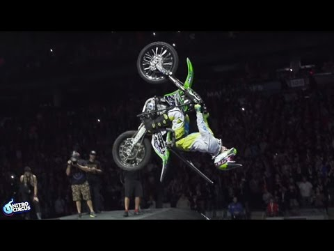 World First Paraplegic Backflip on a Motorbike