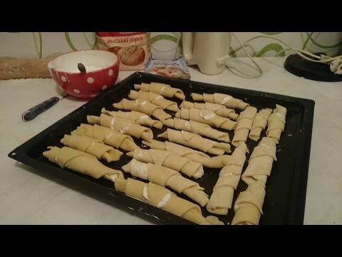 Песочное печенье Рецепт выпечки Рогалики как приготовить вкусно пошагово классический быстро видео
