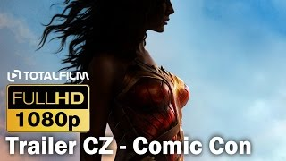 Wonder Woman (2017) CZ HD Comic Con TRL
