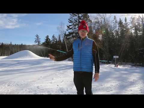 Kris Cheney-Seymour talks about the Snow Factory at Mount Van Hoevenberg