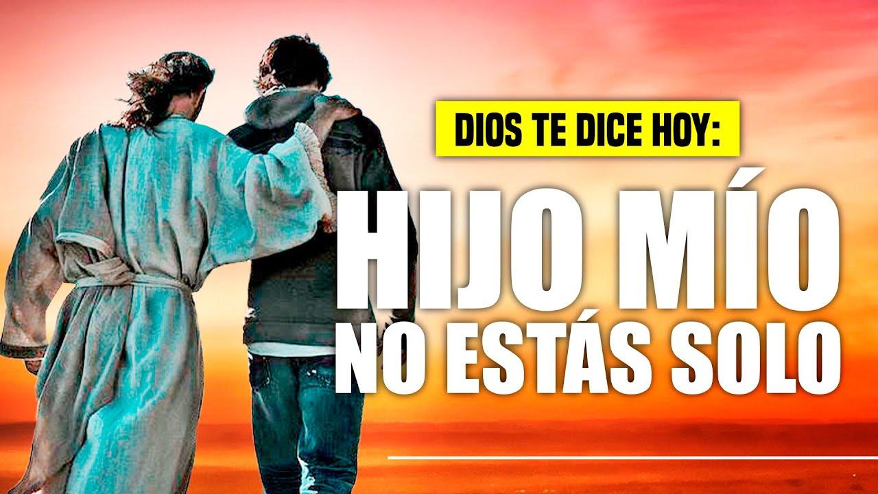 "@DIOS TE DICE HOY: 😇 ""𝗡𝗢 𝗘𝗦𝗧𝗔𝗦 𝗦𝗢𝗟𝗢, 𝗠𝗜 𝗣𝗥𝗘𝗦𝗘𝗡𝗖𝗜𝗔 𝗦𝗜𝗘𝗠𝗣𝗥𝗘 𝗜𝗥𝗔 𝗖𝗢𝗡𝗧𝗜𝗚𝗢 𝗔 𝗗𝗢𝗡𝗗𝗘 𝗤𝗨𝗜𝗘𝗥𝗔 𝗤𝗨𝗘 𝗩𝗔𝗬𝗔𝗦"" 🙌"