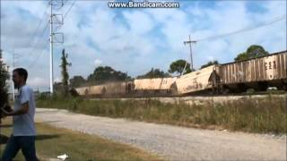 Slow Moving Train Wreck
