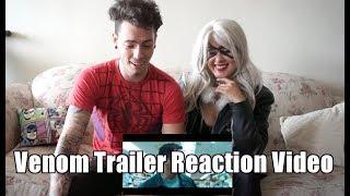 New Venom Trailer Reaction Video by Spider-Man & Black Cat