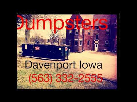 (563) 332-2555 Grand Mound, Iowa Dumpster Rental