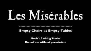 38. Empty Chairs At Empty Tables - Les Misérables Backing Tracks (karaoke/instrumentals)