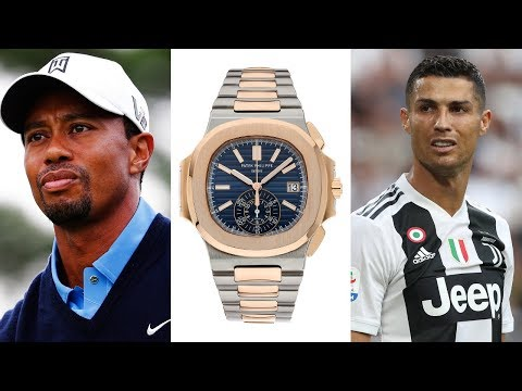 Watches of the World's Most Popular Athletes (Ronaldo, Tiger Woods, Federer, McGregor & More)