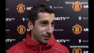 Henrikh Mkhitaryan Goal & Post-Match Interview - Manchester United v Sunderland - 26.12.2016