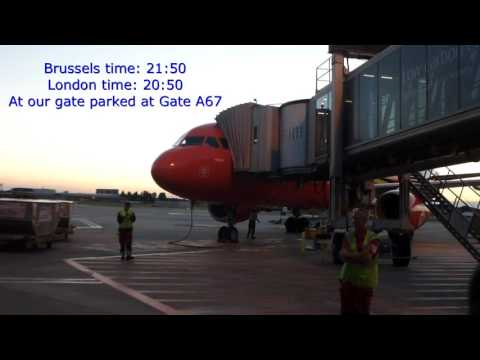 Brussels Airlines/Brussels-London LHR/Biz&Class/A320-200/JUL2016