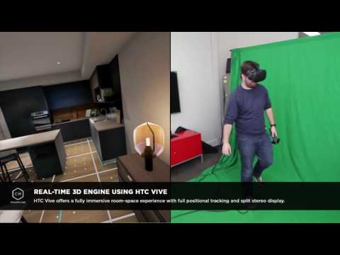 CM R&D Labs Real-time 3D with HTC Vive