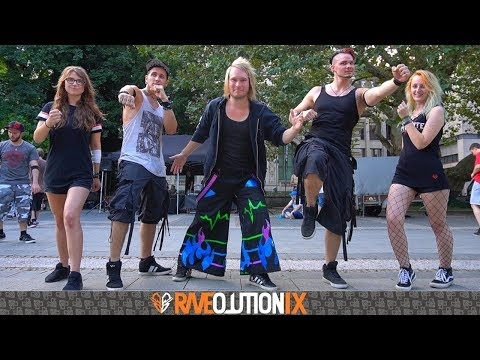Melbourne Shuffle/ Industrial Meet Hannover // Raveolution IX Outdoor (Ser0x Edition)