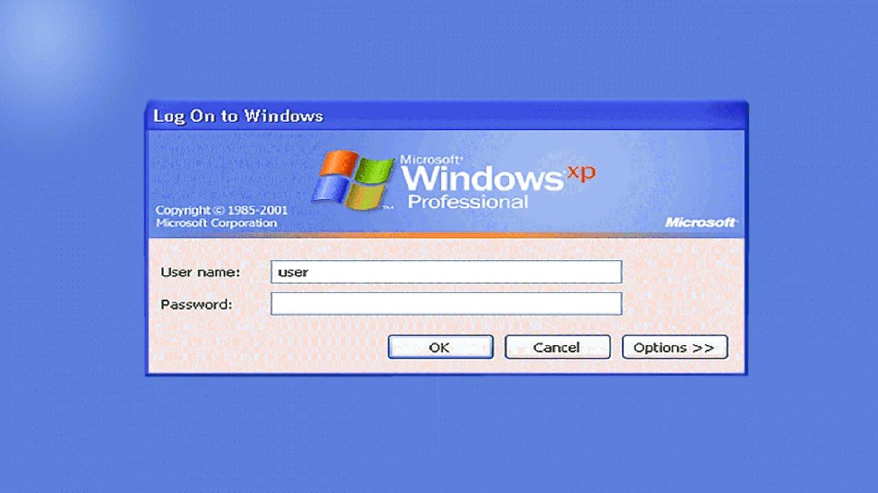 windows xp home edition default administrator password