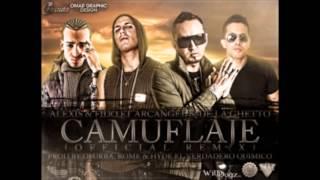 Camuflaje Remix | Alexis y fido Ft Arcangel y De la Ghetto - 2012 - con letra