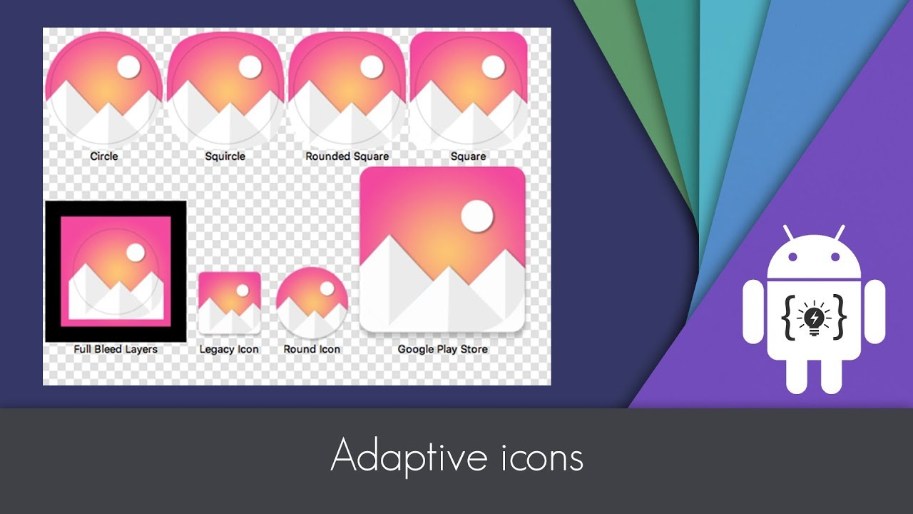 Android Studio - Adaptive Icons