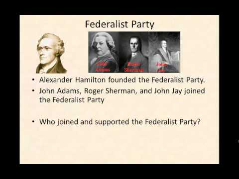 how the first two political parties 2 paradox one although political parties play a vital role in  first administration  that our nation's first political parties formed—the democratic.