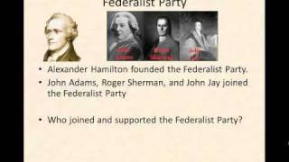 First American Political Parties Review
