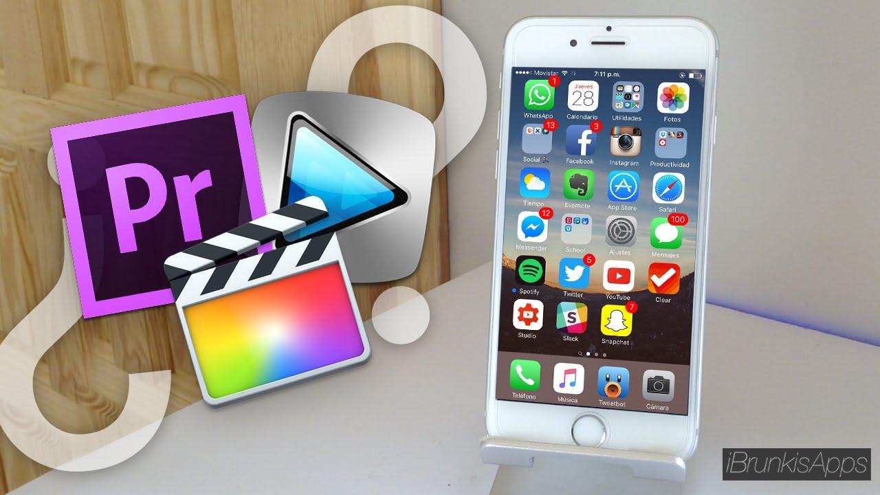 La mejor app para editar tus v deos desde tu iphone ipad - Para disenar fotos ...