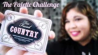 The Palette Challenge: Too Faced Country Palette Thumbnail