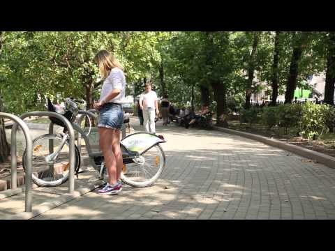 "Smoove 2014 - Moscow city - VELOBIKE - "" How to use Smoove bike with Troika card """