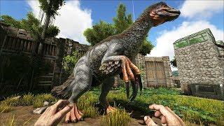 ARK.Уроки выживания. Урок 113. Теризинозавр - страшный зверь.