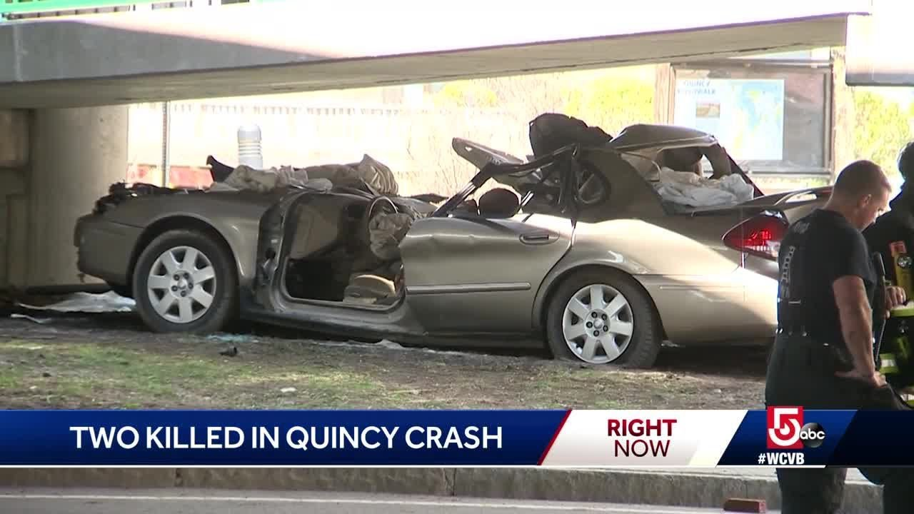 2 Weymouth men killed in single-car crash on Route 3A in Quincy