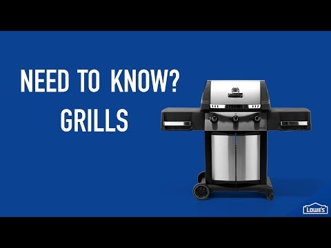 Need to Know: Grills