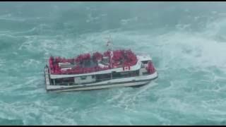 Niagara Water Fall Most Dangerous Video 2016