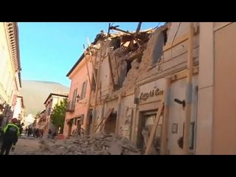 Italy hit by 6.6 magnitude earthquake