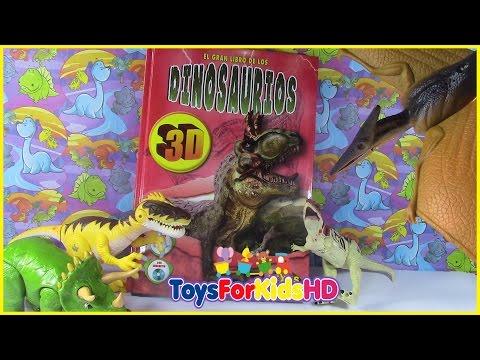 Videos de dinosaurios para niños libros de dinosaurios BARYONYX, APPALACHIOSAURUS ToysForKidsHD