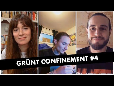Youtube: Grünt Confinement #4 avec 7 Jaws & Raphaël Da Cruz