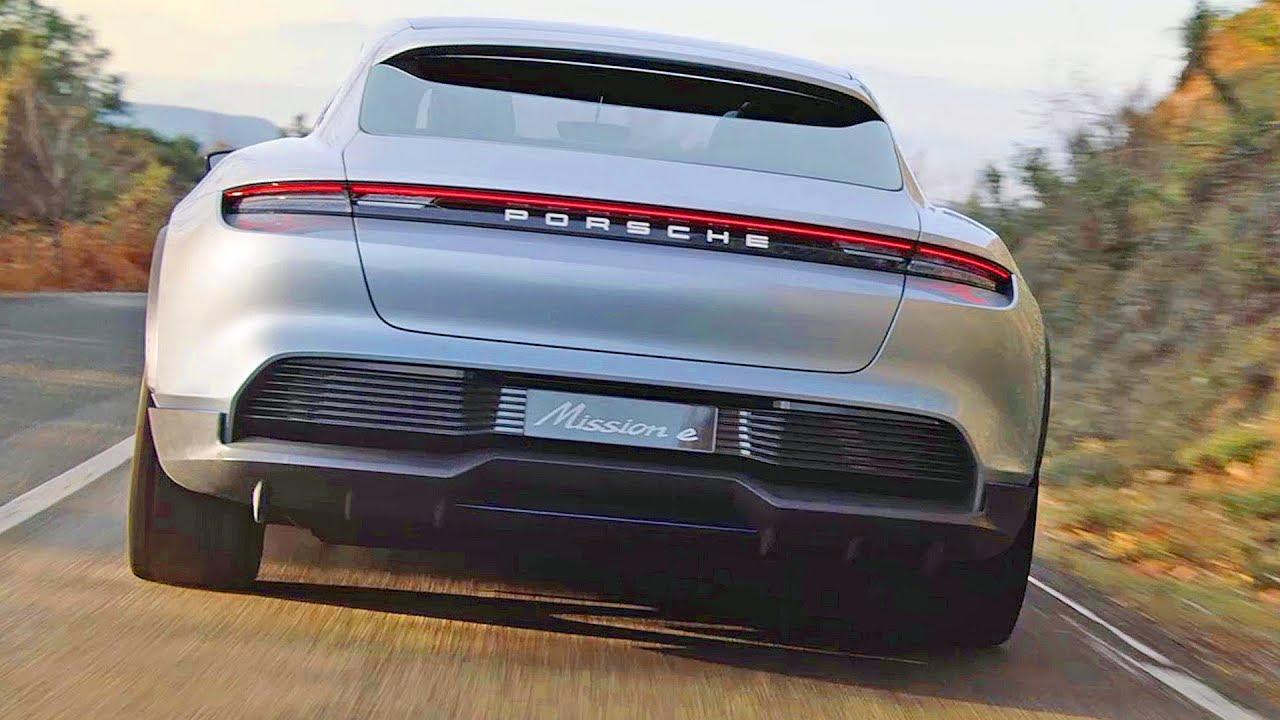 Porsche Mission E Cross Turismo (2018) Next-Gen EV Porsche - Dauer: 11 Minuten