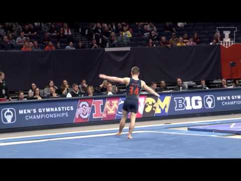 Illinois Men's Gymnastics Highlights | 2017 B1G Event Finals