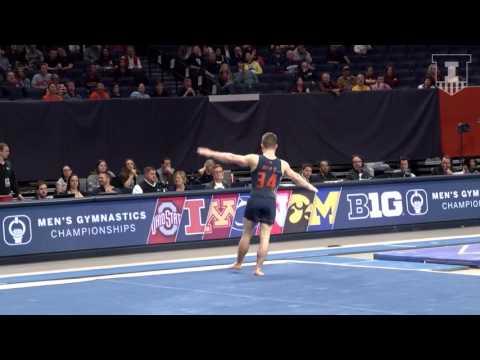 Illinois Men's Gymnastics Highlights | 2017 B1G Event Finals