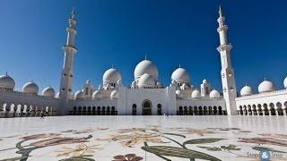 Абу-Даби. Мечеть шейха Зайда(Вместе с Исламом Терло мы посетим одну из самых больших мечетей в мире., 2016-02-29T17:23:53.000Z)