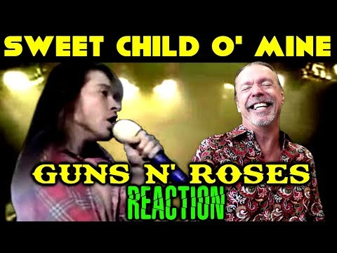 Vocal Coach Reacts To Guns N' Roses | Axl Rose | Sweet Child O' Mine | Live | Ken Tamplin