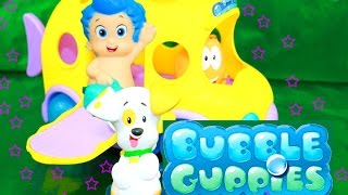 Bubble Guppies Swim Sensational School Bus Swim-Sational Toy Autobús Escolar Nickelodeon Scuolabus