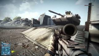 Battlefield 3 PC : Gameplay en Tank commenté en Conquête sur Kharg !
