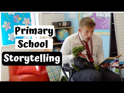 Storytelling Every Day For a Week In Primary School
