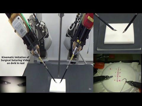 El robot que aprende a suturar viendo a cirujanos reales
