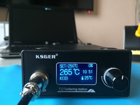 "KSGER T12 Паяльная станция на STM32 с 1.3"" OLED"
