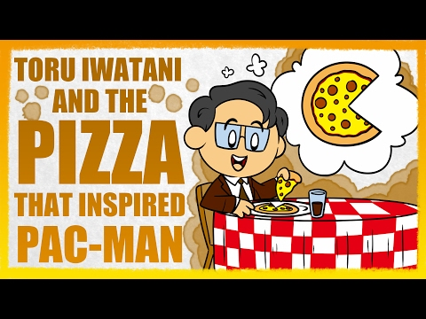Pac-Man: The Story Of Toru Iwatani And The Pizza That Revolutionized Arcade Games