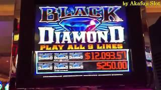 Big Win! Earn at 25 cents Slot !! 2nd bullet★BLACK DIAMOND $0.25 Slot Max bet $6.75  Akafujislot