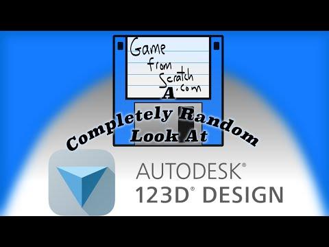 Autodesk 123D Design For GameDev: A Completely Random Look